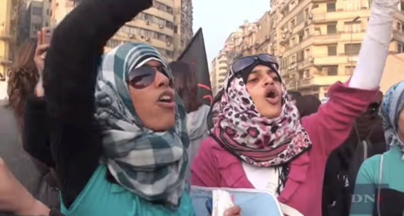 Women of Egypt March against SCAF